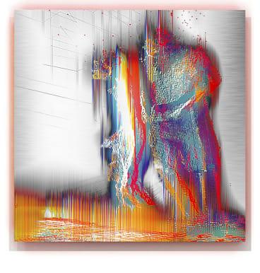 <I>Stray Light<I> by Alexander Boynes in <I>Body/Time/Light<I> at Beaver Galleries.