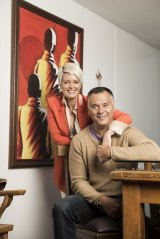 Tracey Holmes and Stan Grant.