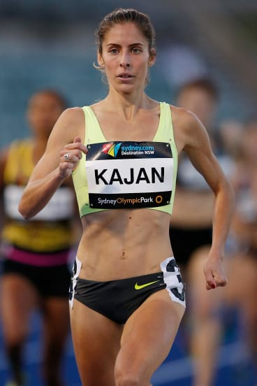 New face: Selma Kajan of New South Wales has qualified for the 800m.