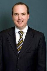Former Greyhound Racing NSW chief executive Brent Hogan.