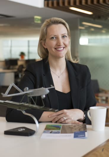 Catherine Ball says her drones have huge potential to assist humanitarian projects.