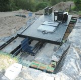Another view of the trapdoor, on a property near Taree.
