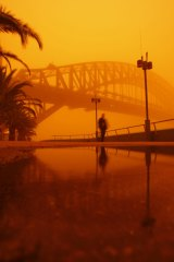 "The 2009 ""red dawn"" that saw a huge region of eastern Australia cloaked in a dust storm."