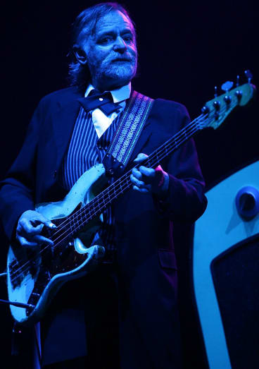 Wayne Duncan of Daddy Cool performs on stage in concert ahead of The Beach Boys at the Palais Theatre, Melbourne on November 2, 2007 in Melbourne, Australia.