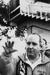 Not the messiah: Balmain Tigers had high hopes for Alan Jones when he was appointed coach in the early 1990s but he failed to deliver success.