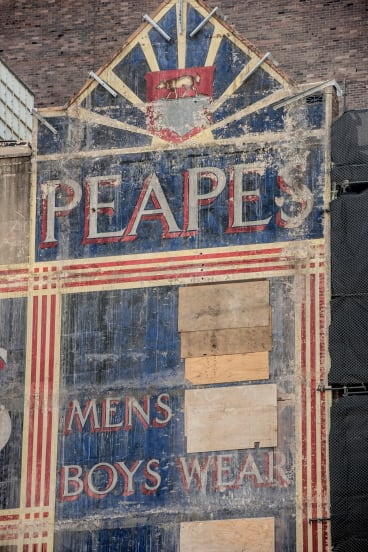 Peapes menswear was established in 1866.