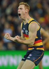 Tom Lynch is vital to the Crows style.