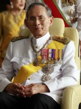 King Bhumibol Adulyadej in 2010.