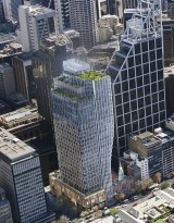 An artist's impression of the planned new development at 60 Martin Place.