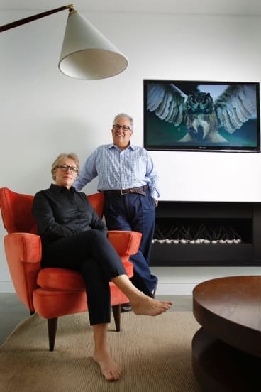 Simon and Christine Mordant help push Australian art onto the world stage.