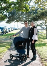Brett and Meagan Redelman used their $40,000 house deposit to start pram business Redsbaby.