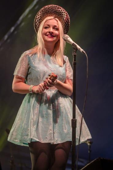 Kate Miller-Heidke at the Queenscliff Music Festival.