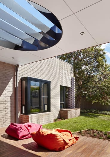 The Australian Ballet School Residence in Parkvill designed by MGS Architects.