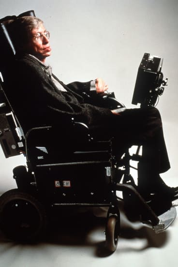 Stephen Hawking in 1998.