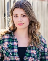 Stage practice: Meg Dunn hopes to become a professional actor and has found VET screen acting helpful during VCE.