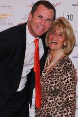 Wayne Carey and Lilian Frank at The Million Dollar Lunch.
