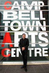 """Campbelltown Arts Centre director Michael Dagostino does not want to create an """"us versus them"""" battle with CBD-based cultural institutions for government funding."""