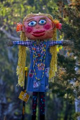 Scarecrows come alive amid the spring celebrations at Pfeiffer Wines in Scarecrows, Sausages and Shiraz.