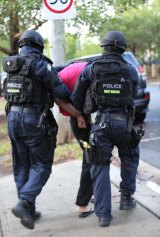 Abdullah Salihy is arrested in December during the Operation Appleby investigation into the alleged planning of a terrorist attack in Australia.