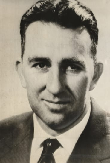 Former Australian ambassador to Indonesia Gordon Jockel circa 1972. He was part of the group of former military personnel and diplomats who attacked John Howard and his government on foreign policy.