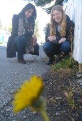 Lily Serna and Kelcie Miller-Anderson.