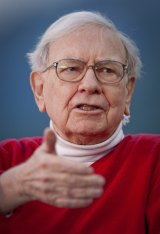 Wealthy donkeys: According to Warren Buffett, investment bankers give 'asinine' advice 'with a straight face'.