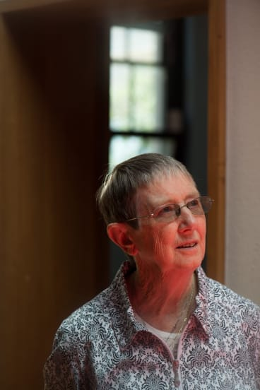 Political activisti Sister Brigid Arthur is a key player in the Churches Refugee Taskforce, which is co-ordinating the sanctuary campaign for 267 asylum seekers set to return to Nauru.