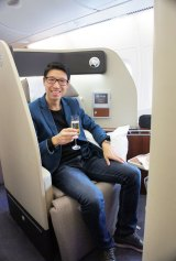 Steve Hui of iFLYFlat has created a business advising on the intricacies of frequent flyer schemes.