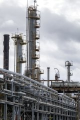 The Altona refinery in Melbourne would be affected by changes to fuel standards.