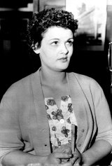 This terrified, unidentified, woman told police early on April 24, 1962, that she saw a man crouched in the branches of a small tree in a Paddington street. Detectives investigating Sydney's three mutilation murders rushed to the scene. They found evidence which they said could bear out the woman's story.