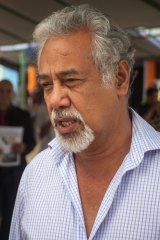 Xanana Gusmao led the negotiations at The Hague.