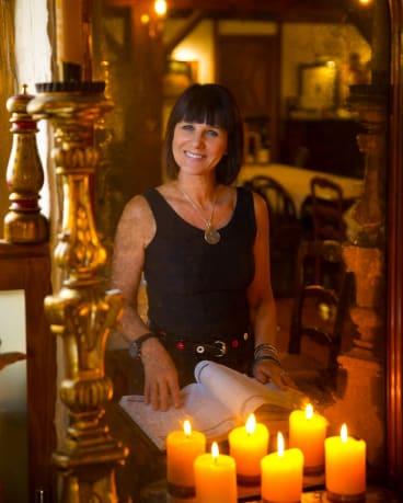Caterina Borsato inside her eponymous restaurant.