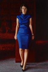 Mathew Lynn's portrait of NSW premier Gladys Berejiklian.