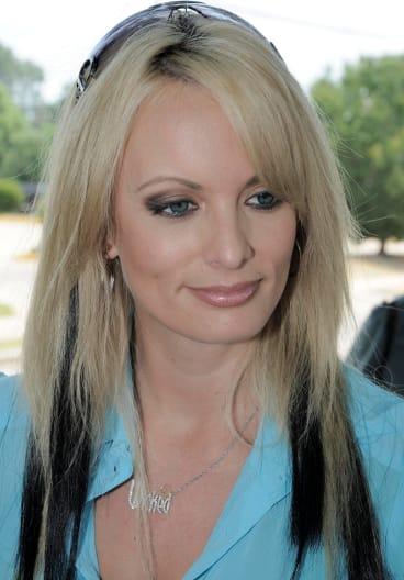 Porn star Stormy Daniels in 2009.