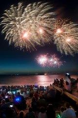 Fireworks are back on the agenda for Australia Day in Fremantle.