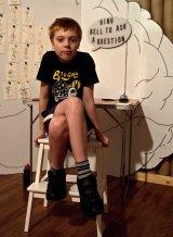Performer Will Hager in Genius  Aaron Bradbrook,