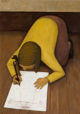 John Brack's <i>First Daughter</i>, which has not been seen by the public for nearly 60 years, sold for a hammer price of $725,000.