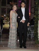 Georgina Robertson and her cavalier, Henry Louis de Kergorla, in Paris in 2009.