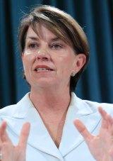 Former Queensland premier Anna Bligh.