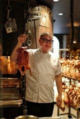 Dan Hong at Mr Wong