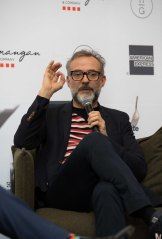 Massimo Bottura says it's hard work and stressful learning to be a chef.