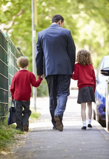 Parents taking school matters into their own hands can make pick-up time fraught.