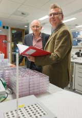 Biankin and Grimmond's research on pancreatic cancer will improve future patients' treatment.