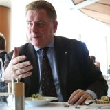 Michael Easson, who will chair the ACT's new City Renewal Authority, in charge of developing Northbourne Avenue, the city centre and the lake front.
