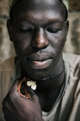 """""""Just because a person's black or brown doesn't mean he's a different person or a bad person"""": Aliir Aliir."""