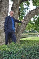 Bayswater Councillor Chris Cornish, a financial planner by trade, says trees are assets Perth can't afford to lose.