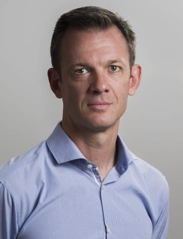 The Canberra Times's deputy editor and news director Scott Hannaford.