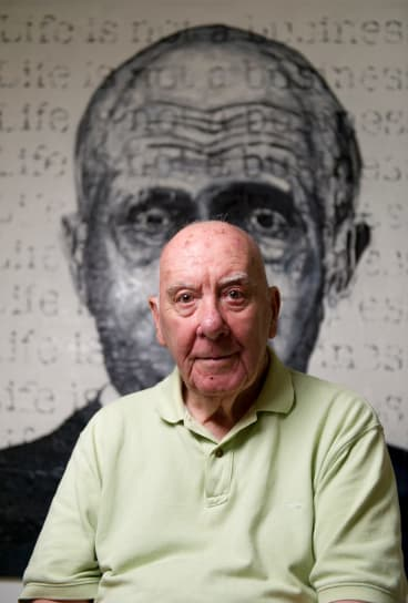Founding creator of the Bald Archy Prize, Peter Batey.