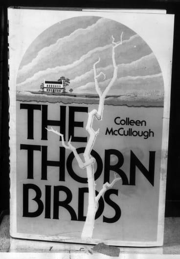 McCullough's best-seller <i>The Thorn Birds</i>.