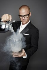 Master at work: Heston Blumenthal.